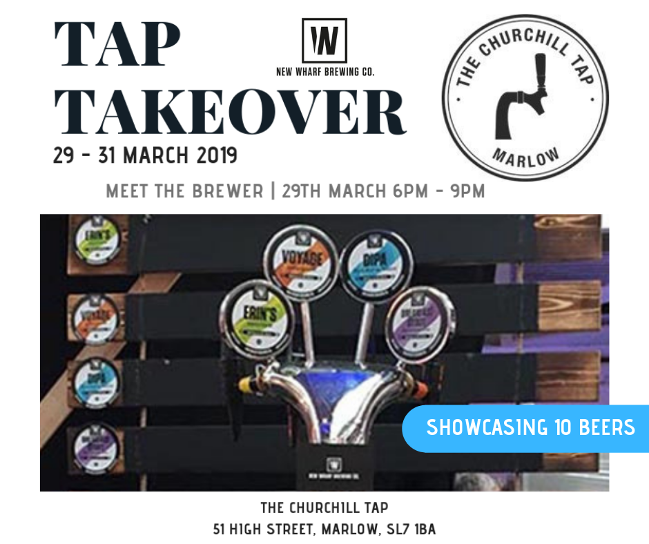 Tap Takeover & Meet The Brewer